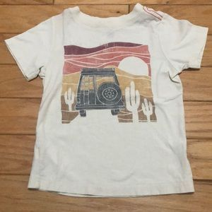 Tea collection boys t shirt size 3